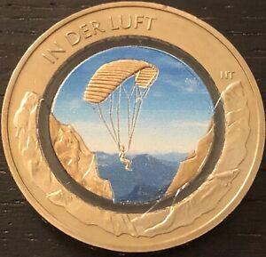 10 Euro 2019 Luft bewegt - In der Luft in Farbe , Coloriert