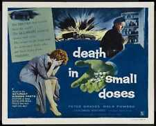 Death In Small Doses Poster 02 A2 Box Canvas Print