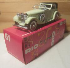1652. RIO models N.61 HISPANO SUIZA V12 1932 Scatola classica/Classic box  MB