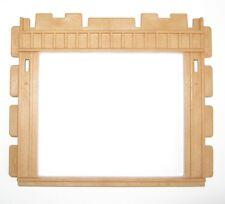 Playmobil WAND offen braun 3775 3433 3436 3554 3769 3770 Mauer Rahmen Holz