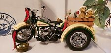 FRANKLIN MINT HARLEY DAVIDSON 1947 SERVI CAR 2009 CHRISTMAS