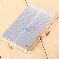 New Heat sink 100mmx60mmx10mm IC Heat sink Aluminum Cooling Fin DIY