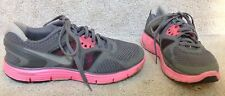Womens NIKE LUNARGLIDE 3 Gray & Pink Athletic Sneakers Shoes SZ 6  Retail $110