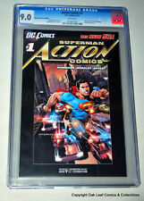 Action Comics #1 CGC 9.0 2012 Retailer Incentive Edition Promotional 4th Print