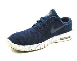 Nike SB Stefan Janoski Air Max Mens Shoes Size 9 Blue Skateboarding Sneakers