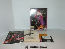 Star Wars B-Wing X-Wing Big Box PC Floppy Disc Game Complete
