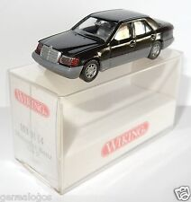 MICRO WIKING HO 1/87 MERCEDES BENZ 320 E NOIRE in BOX