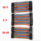11cm 240x Male to Female Dupont Wire Jumper Cable Cord for Arduino Breadboard ღღ