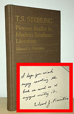 Edward Piacentino - T S Stribling: Pioneer Realist - SIGNED 1st 1st - NR