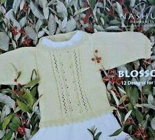Nashua Bebé Niños Tejer patrón FOLLETO Boy Girl 12 Diseños hilado de algodón