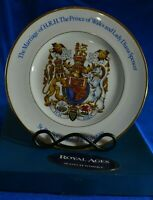 Wood&Sons Marriage of H.R.H. Prince of Wales and Lady Diana Spencer Plate