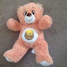 "NANCO LIGHT BROWN HONEY BEE BEAR New Plush Stuffed Animal 12"""