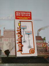 BACHMANN ** EXXON ** GAS SERVICE STATION SIGNS HO Scale AFX SLOT/ Trains *mint*