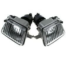 2PCS Big Bumper PROJECTOR Clear Fog Light FOR VW 1985-1992 GOLF II / JETTA MK2