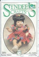 "Playtime Pattern Bubble Suit ~ Syndee's Crafts Doll #24012 Lg 21"" Med 16"" Sm 10"""