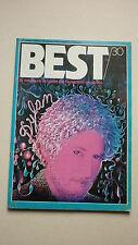 Magazine BEST n° 30  - janvier 1971    couv   dylan :  avec poster alice
