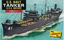 LINDBERG  1/525 US Navy Kennebec Class Tanker Ship  LIN438-NEW