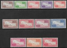 More details for nepal - 1954 - map of nepal set of 12 - um - sg 85/96 - cat £255