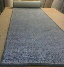 CARPET RUG HALL RUNNER 66cm x 329cm GREY EASY CLEAN HEAVY DUTY CHUNKY TWIST
