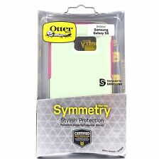OTTERBOX SYMMETRY SAMSUNG GALAXY S6 TOUGH CASE COVER MELON POP GREEN PINK