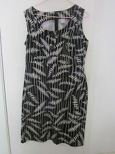 BEAUTIFUL  BLACK AND WHITE  DRESS BY TARGET SIZE 14