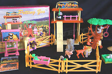 GLORIA Dollhouse FURNITURE SIZE FOR BARBIE PETTING ZOO PLAY SET