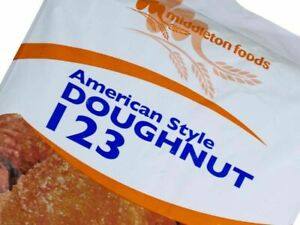123 AMERICAN DOUGHNUT Donut MIX 12.5kg Caterers Pack US Style Cafe Diner