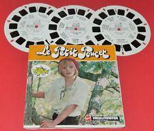 STEREOSCOPE GAF  VIEW-MASTER LE PETIT POUCET 1972 PARC FILMS NAVARRE BOISROND