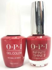 OPI GelColor The Thrill of Brazil #A16 + Infinite Shine #A16