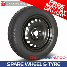 """15"""" Nissan Note 2013 - 2017 Full Size Spare Wheel & Tyre - Free Delivery"""