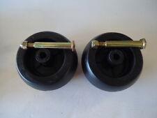 2 Pack Mower Deck Wheels & Bolts for Cub Cadet RZT50 RZT54 753-04856A 174873