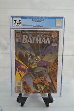 DC DETECTIVE COMICS BATMAN THE BEGINNING OF TOMORROW #0 1994 CGC 7.5