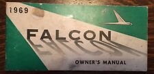 1969 FORD FALCON OWNER'S MANUAL