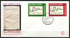 Suriname - 1976 Bicentenary independence USA - Mi. 736-37 clean FDC