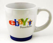 eBay PowerSeller Mug 14 oz Boston 2007 Old Logo Rubber Base Power Seller Tea Cup
