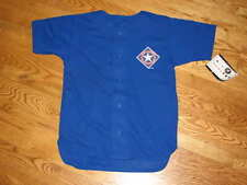 NEW Texas Rangers MLB Boys Youth Jersey Size S 8 Small Blue Unisex Shirt Girls