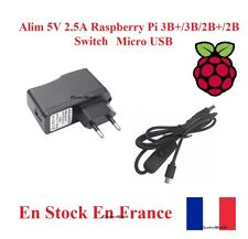 Alim AC/DC Adapter 5V 2.5A Power supply Raspberry Pi 2B/2B+/3B/3B+ Micro USB