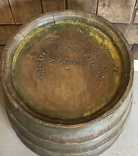 Rare Antique Cremo Brewing Co. New Britain Ct Beer Wooden Barrel Keg Man Cave