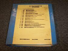 Komatsu 118B Motor Grader Roller Crane Workshop Shop Service Repair Manual Set