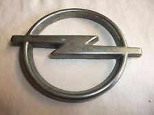 o1q Original Oldtimer Emblem Typenschild Kühlerfigur oder Heckklappe Marke Opel