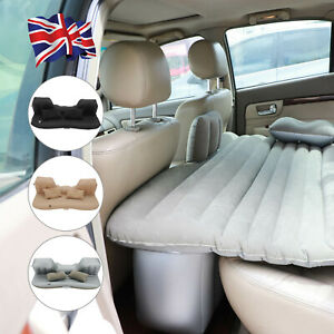 Inflatable Car Air Bed Back Rear Seat Rest Foldable Mattress Travel Camping UK
