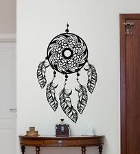 Dream Catcher Wall Decal Feathers Indian Vinyl Sticker Native Decor Mural 107xxx