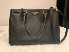 New ListingPrada Medium Galleria Saffiano Lux Leather Double Handle Bag  Black 76ede3bc0d9cf