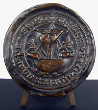 Medaille COTWE scotish Whisky écossais sceau ville de Paris 1988 384g medal