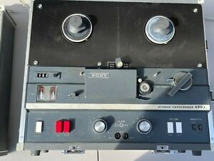 Sony TC-500A Tapecorder Reel to Reel Vacuum Tube Vintage Player