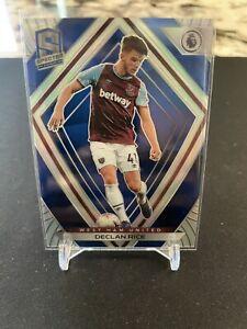 2020-21 Declan Rice Spectra Blue /49 No. 3 West Ham United