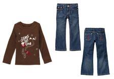 Gymboree NWT Alpine Sweetie Girls Ski Club Top/Jeans 6 SLIM Denim Pant Shirt NEW