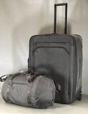 "Victorinox Tallux Bronze Set 22"" Soft Duffle & 28"" Upright Exp Wheeled Suitcase"