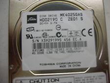 Toshiba 40gb MK4025GAS FKN5GA A5A000465 IDE