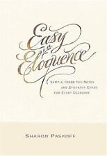 Easy Eloquence: Sample Thank You Notes and Sympathy Cards For Every-ExLibrary